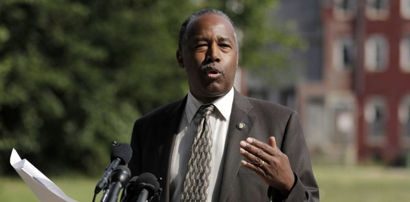 Ben Carson Tackles Affordable Housing