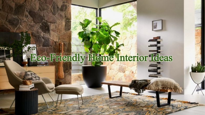 Eco-Friendly Interior Decor Ideas to Make Your Home Beautiful